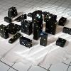 <strong>Pique-nique</strong><em> Paks, emballages et encre sérigraphique noire.